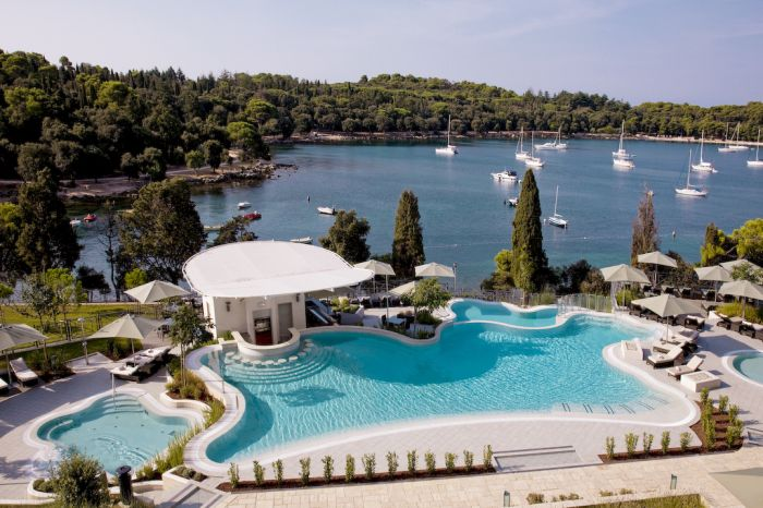 Hotel Monte Mulini, Rovinj, Croatia