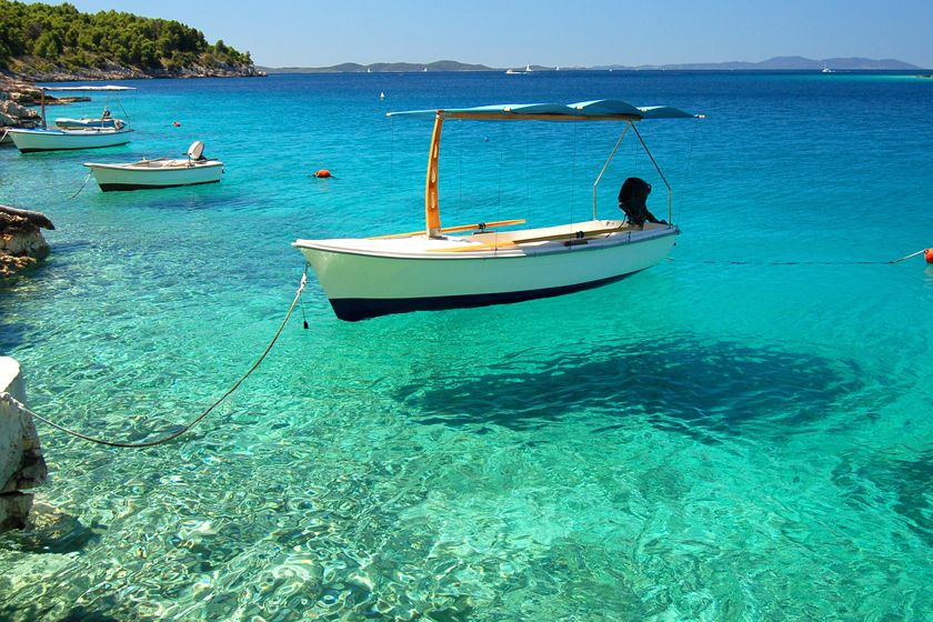 Crystal clear sea, Brac, Croatia
