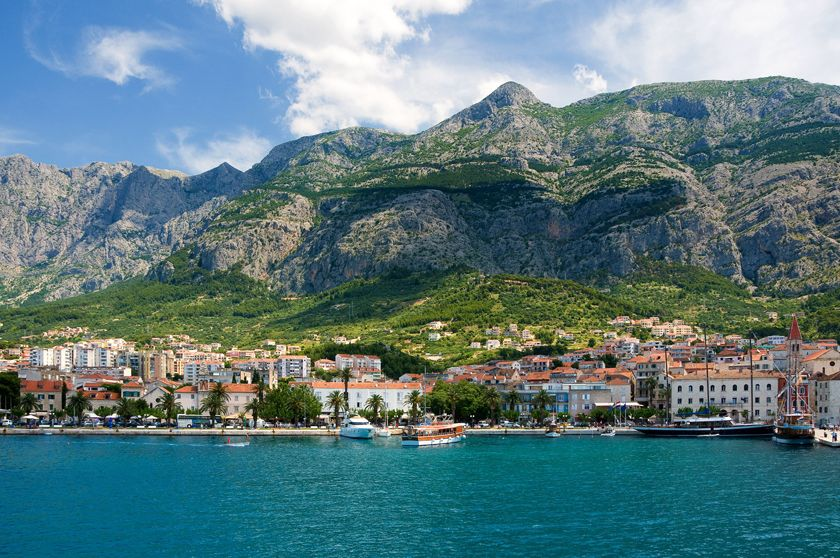 Makarska old town, Makarska, Croatia