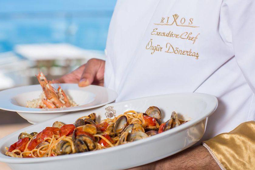 Fresh seafood at Rixos Libertas, Dubrovnik