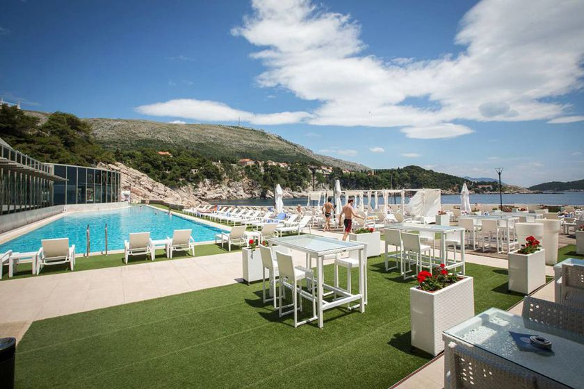 Pool at Rixos Libertas, Dubrovnik