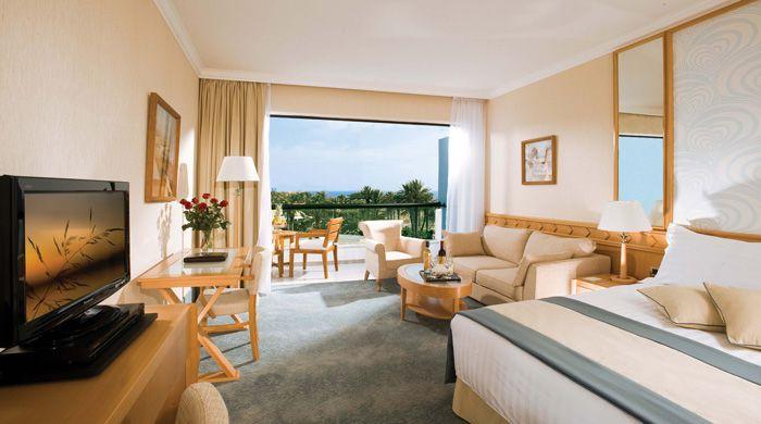 Bedroom at Asimina Suites, Paphos, Cyprus