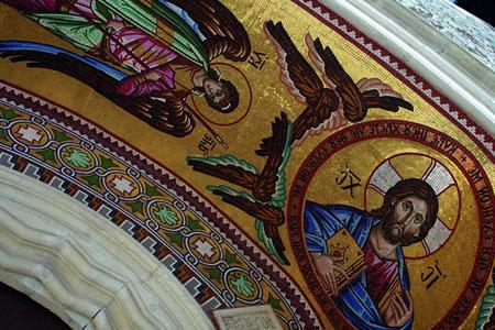 Church fresco Cyprus