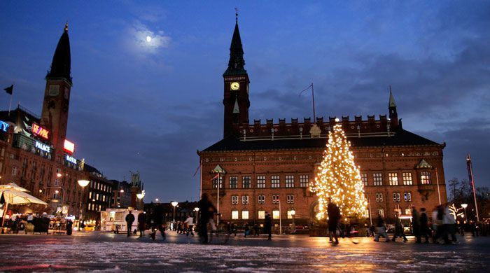Copenhagen at Christmas, Denmark
