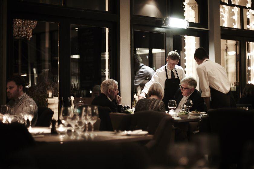 Brasserie at Nimb Hotel, Copenhagen