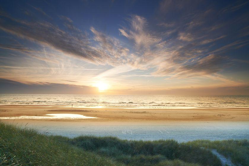 Beach in Jutland, Denmark