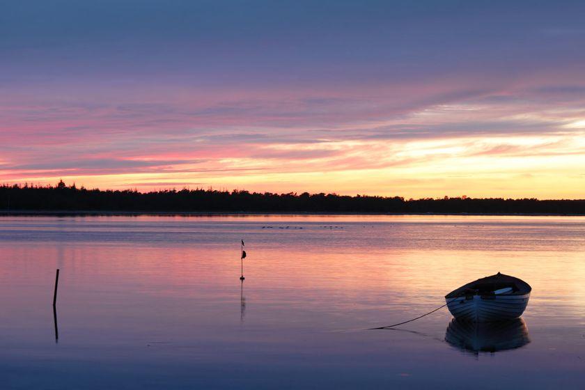 Sunset in Jutland