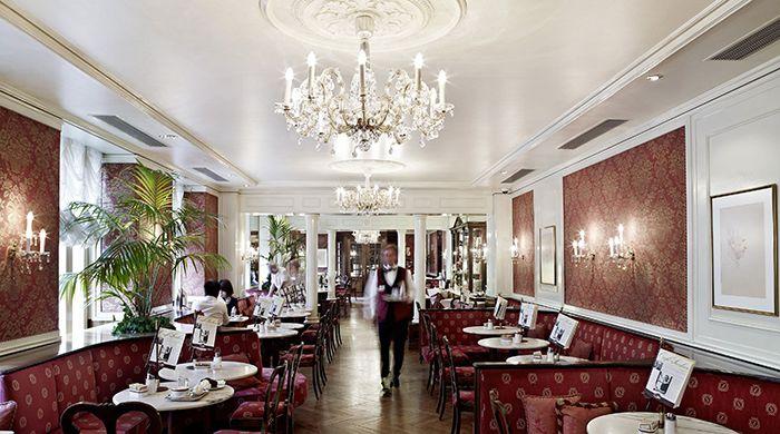 Restaurant, Hotel Sacher