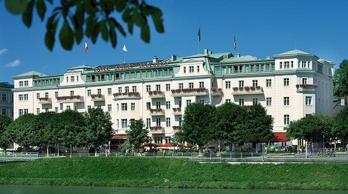 Hotel Sacher, Salzburg, Austria