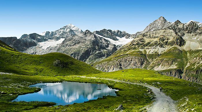 Alps near Salzburg, Austria