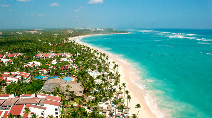 Aerial view, Occidental Grand Punta Cana, Dominican Republic