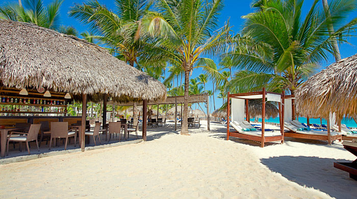 Beach Bar, Occidental Grand Punta Cana, Dominican Republic