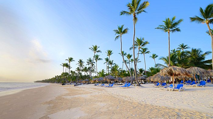 Beach at Occidental Grand Punta Cana, Dominican Republic