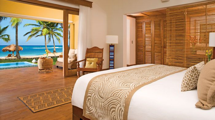 Oceanfront suite, Zoetry Agua, Punta Cana, Dominican Republic