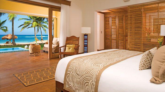 Oceanfront suite, Zoetry Agua, Punta Cana, Dominican Republic