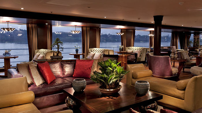 Lounge area, Sun Boat IV