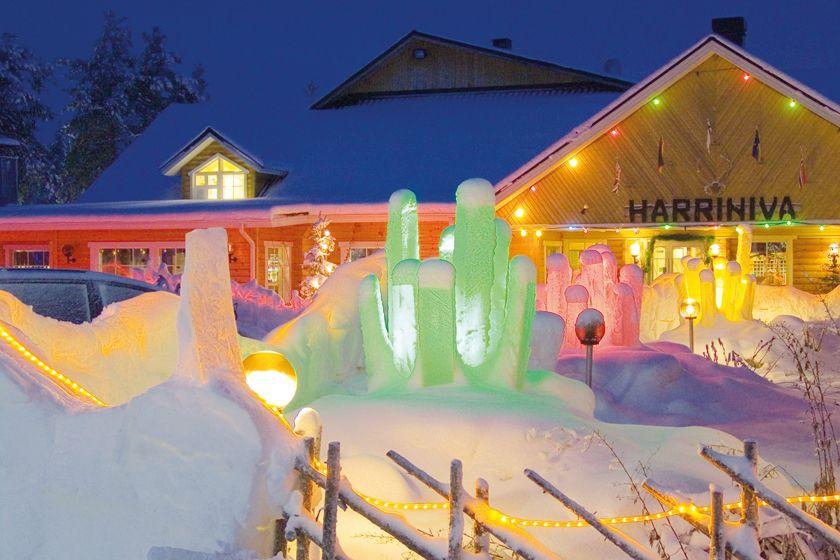 Harriniva Hotel, Finnish Lapland