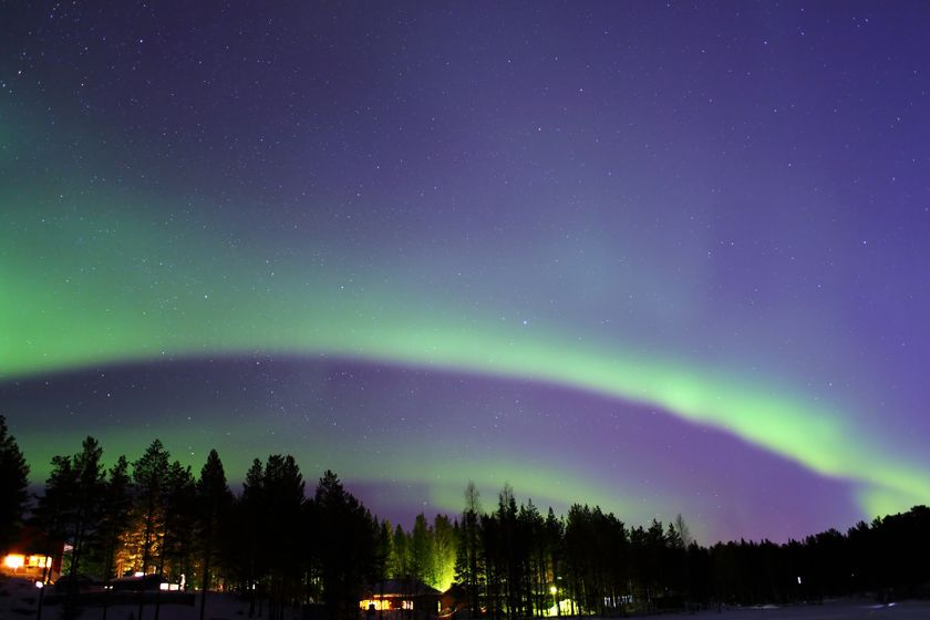 Nothern Lights in Finnish Lapland