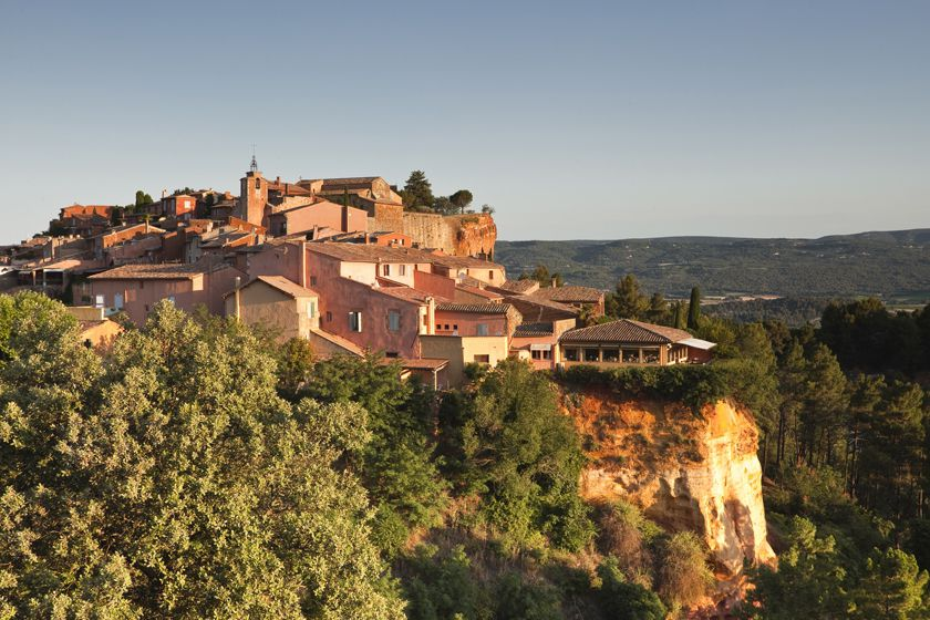 Rousillon, France