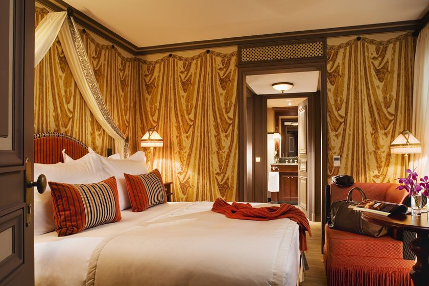 Room at Grand Hotel de Bordeaux & Spa, Bordeaux