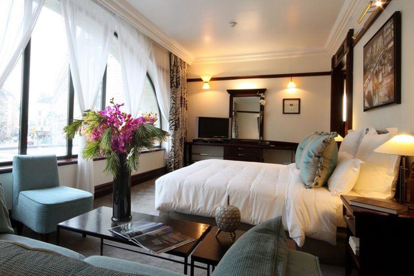 Junior Suite at the Hotel Pont Royal, Paris