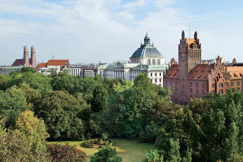 Old Botanical Gardens, The Charles Hotel, Munich
