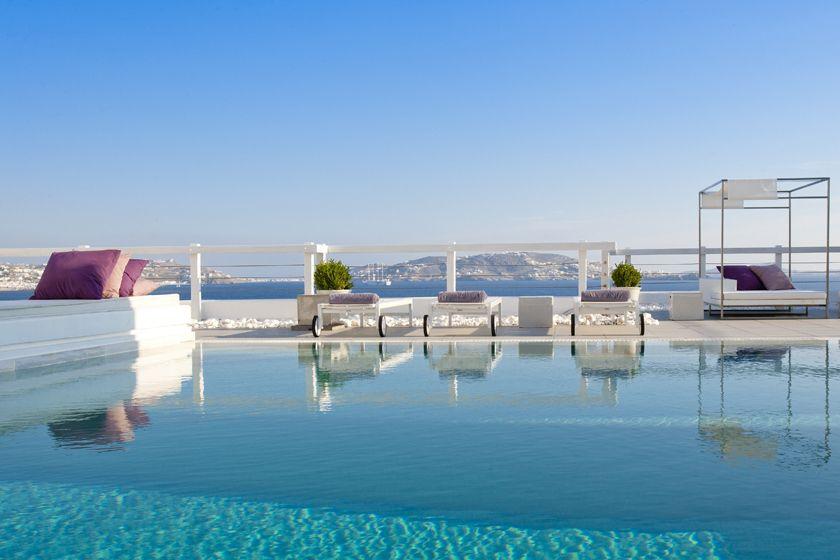 Best Island Beaches For Partying Mykonos St Barts: Grace Mykonos, Greece