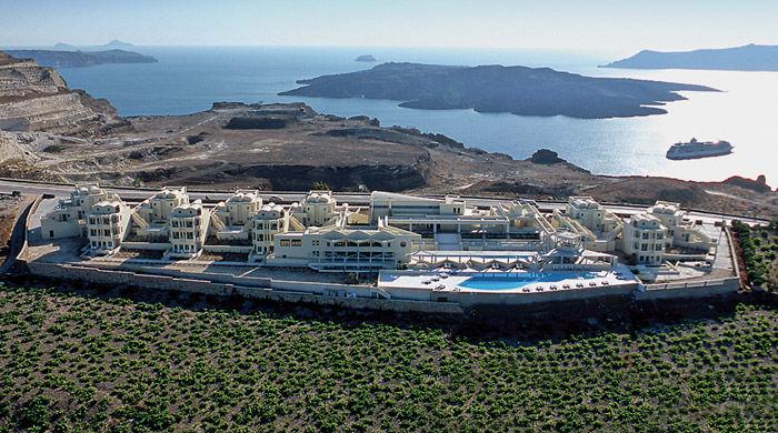 The Majestic Hotel, Santorini, Greece