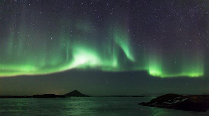 Northern Lights, Lake Myvatn