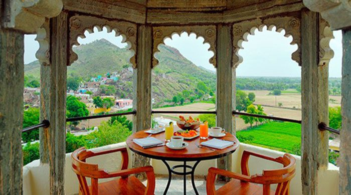 Devi Garh Suite terrace