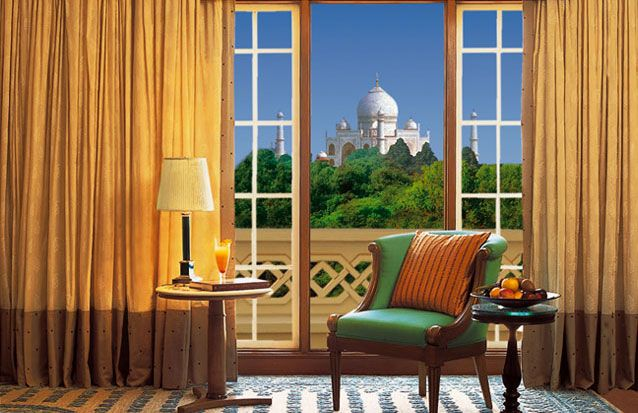View of the Taj Mahal from Oberoi Amarvilas