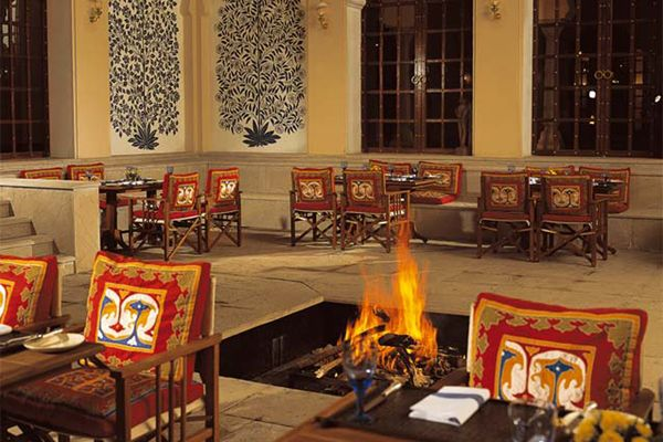 The Oberoi Vanyavilas, Inner Courtyard