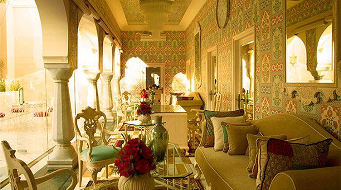 Rajmahal Palace interior