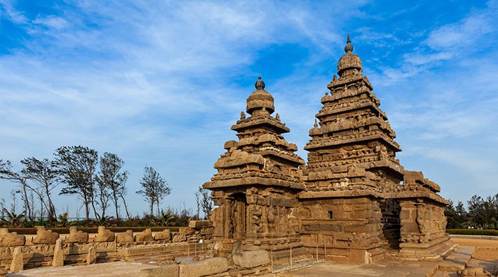 Shore Temple, Mahabalipuram, India