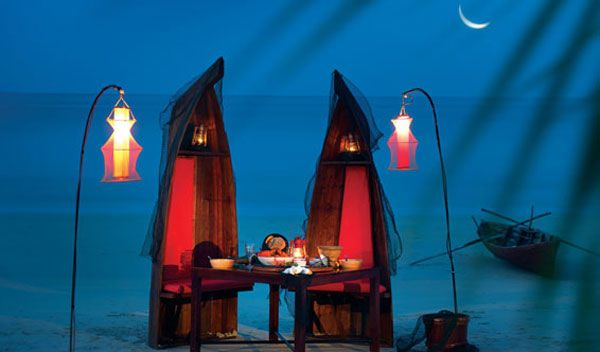 Fisherman's Table dining, Banyan Tree Bintan