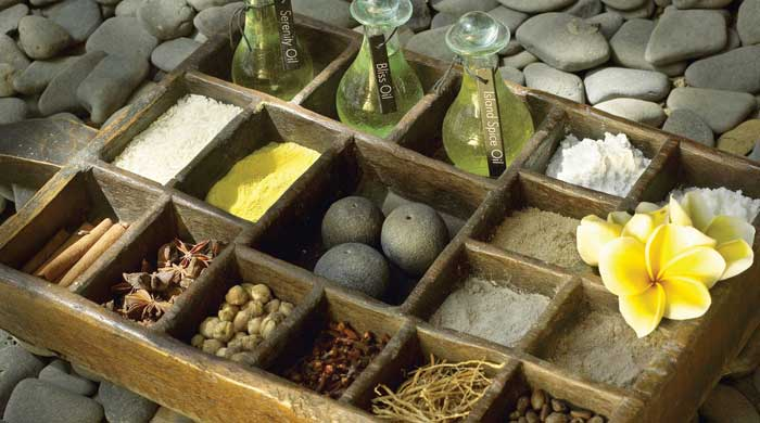 Spa products, Jimbaran Puri, Bali