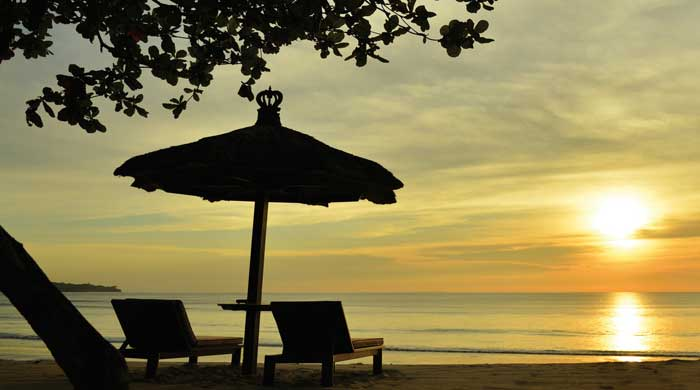 Sunset at Jimbaran Puri, Bali