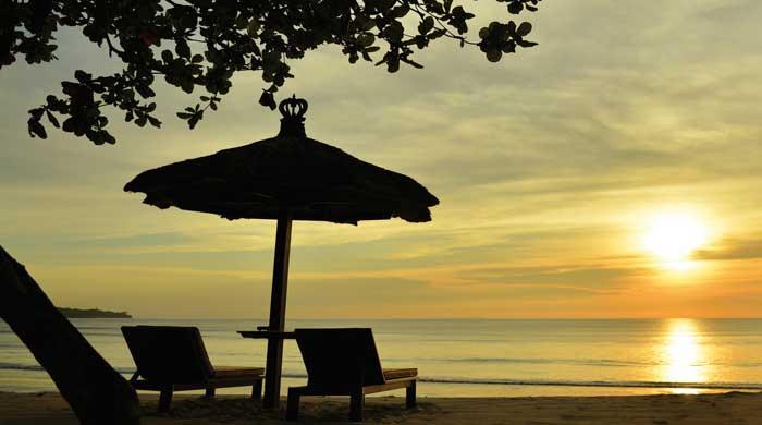 Sunset at Jimbaran Puri, Bali