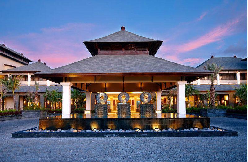St Regis Bali Resort facade