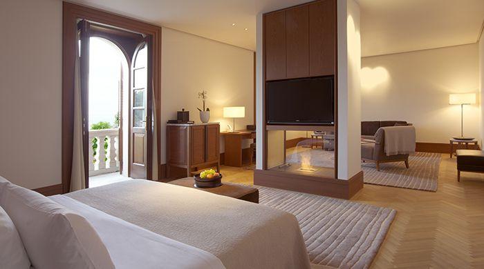 Suite interior, Aman Sveti Stefan
