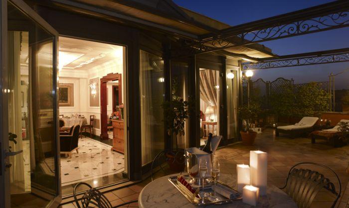 Regina Hotel Baglioni terrace