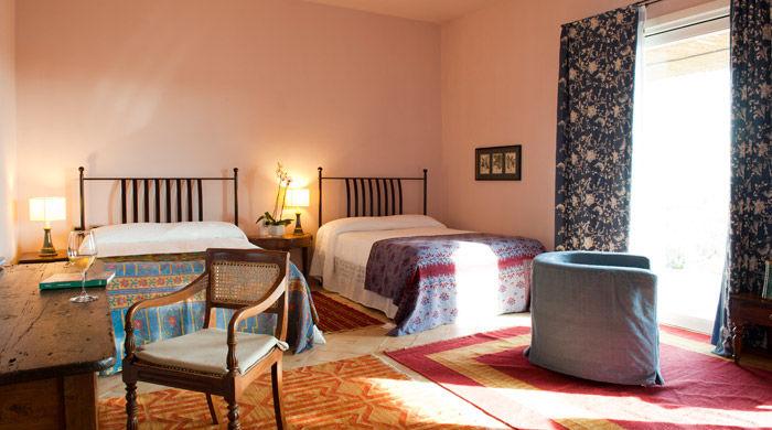 Deluxe Room, La Foresteria, Sicily