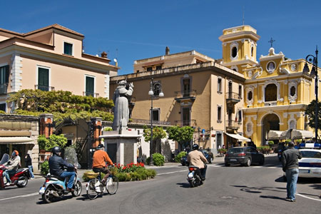 Sorrento centre, Italy