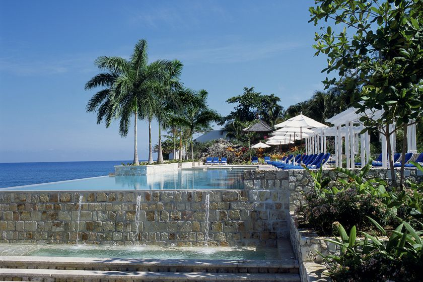 Infinity Pool at Round Hill, Jamaica