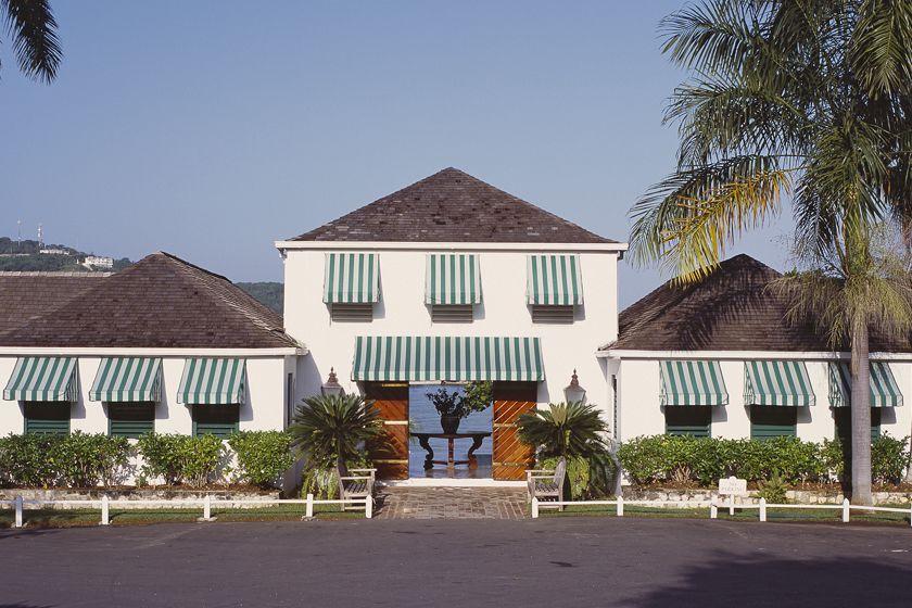 Lobby building, Round Hill, Jamaica