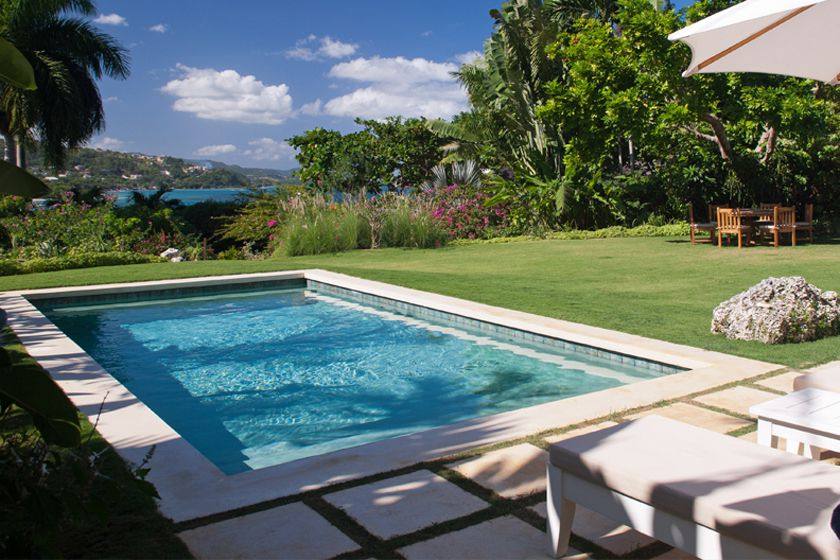 Villa pool at Round Hill, Jamaica