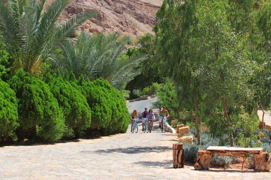 Mountain biking, Evason Ma'In Hot Springs, Jordan