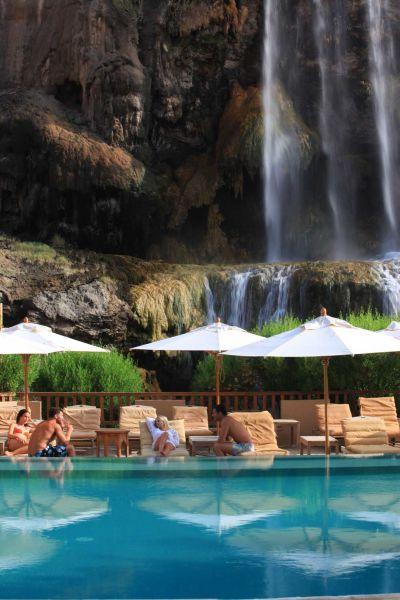 Swimming pool, Evason Ma'In Hot Springs, Jordan