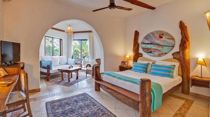 Ocean View Suite, AfroChic Diani, Mombasa, Kenya