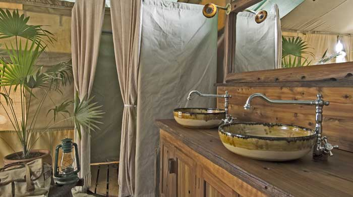 Bathroom, Kicheche Laikipia Camp, Kenya